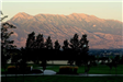 Mountain Range Overlooking Saratoga Springs