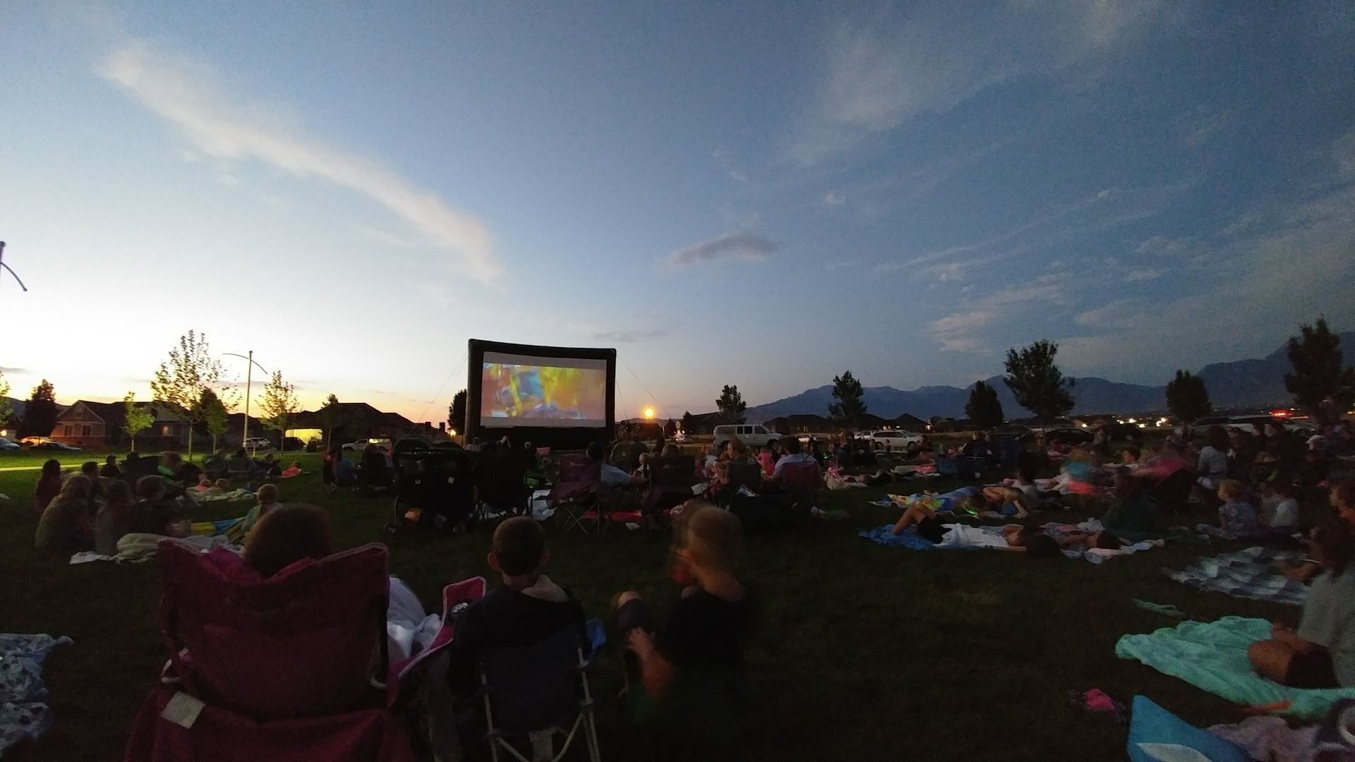 Outdoor movie 2017