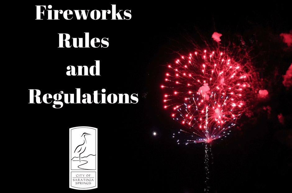 Fireworks Rules and REgulations