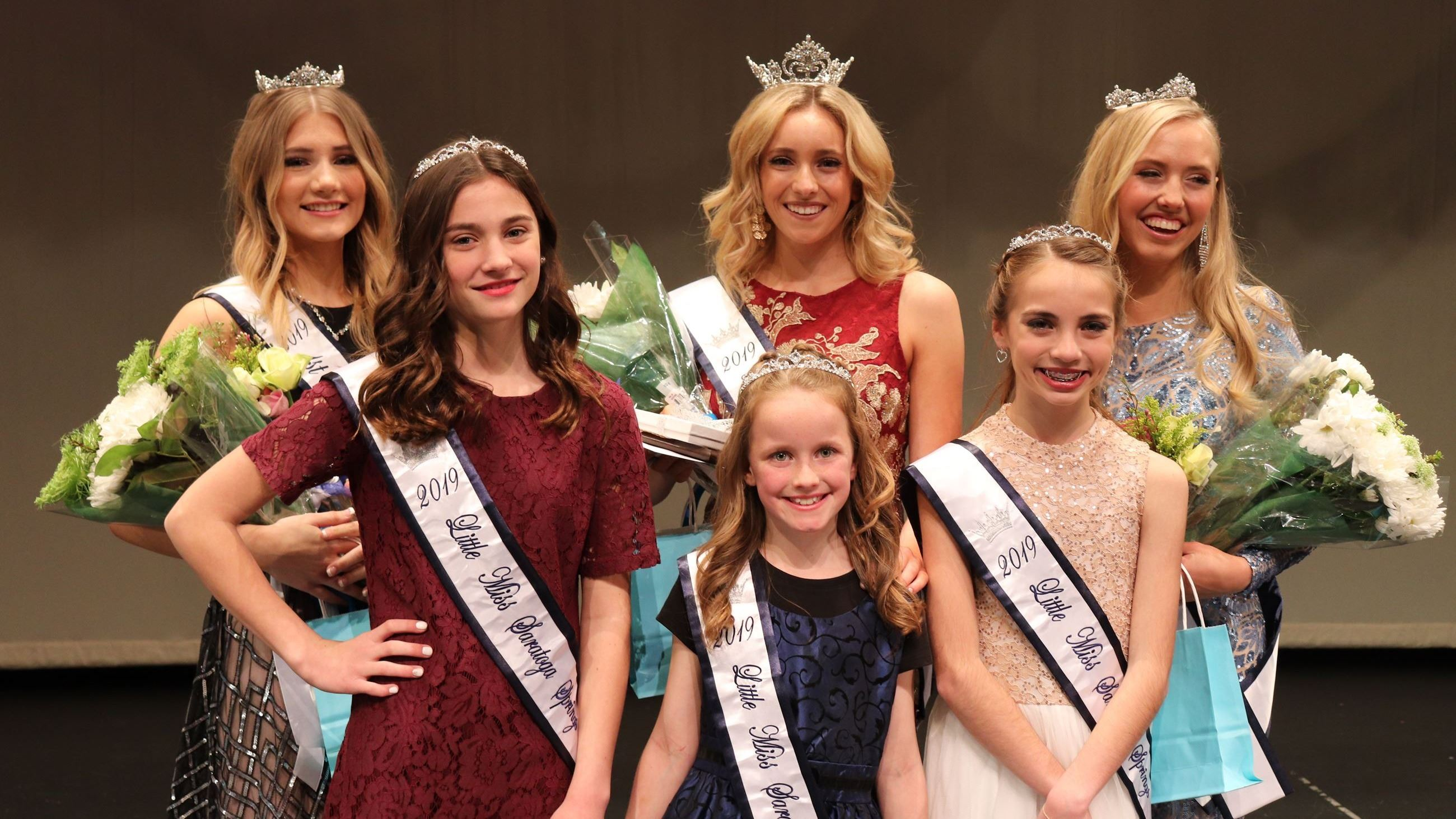 Miss Saratoga Springs and Little Miss Saratoga Springs winners