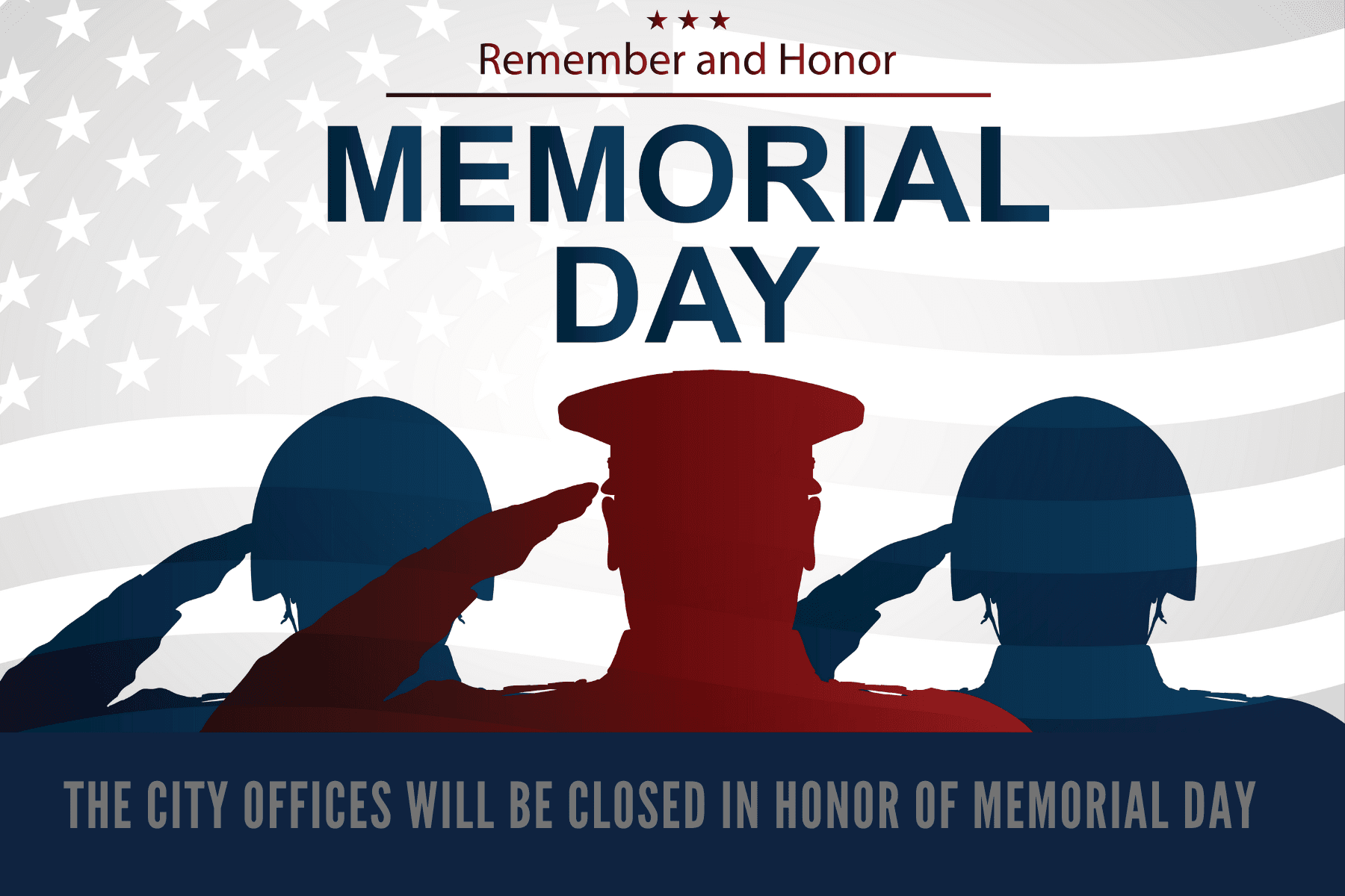 Memorial Day Newsflash