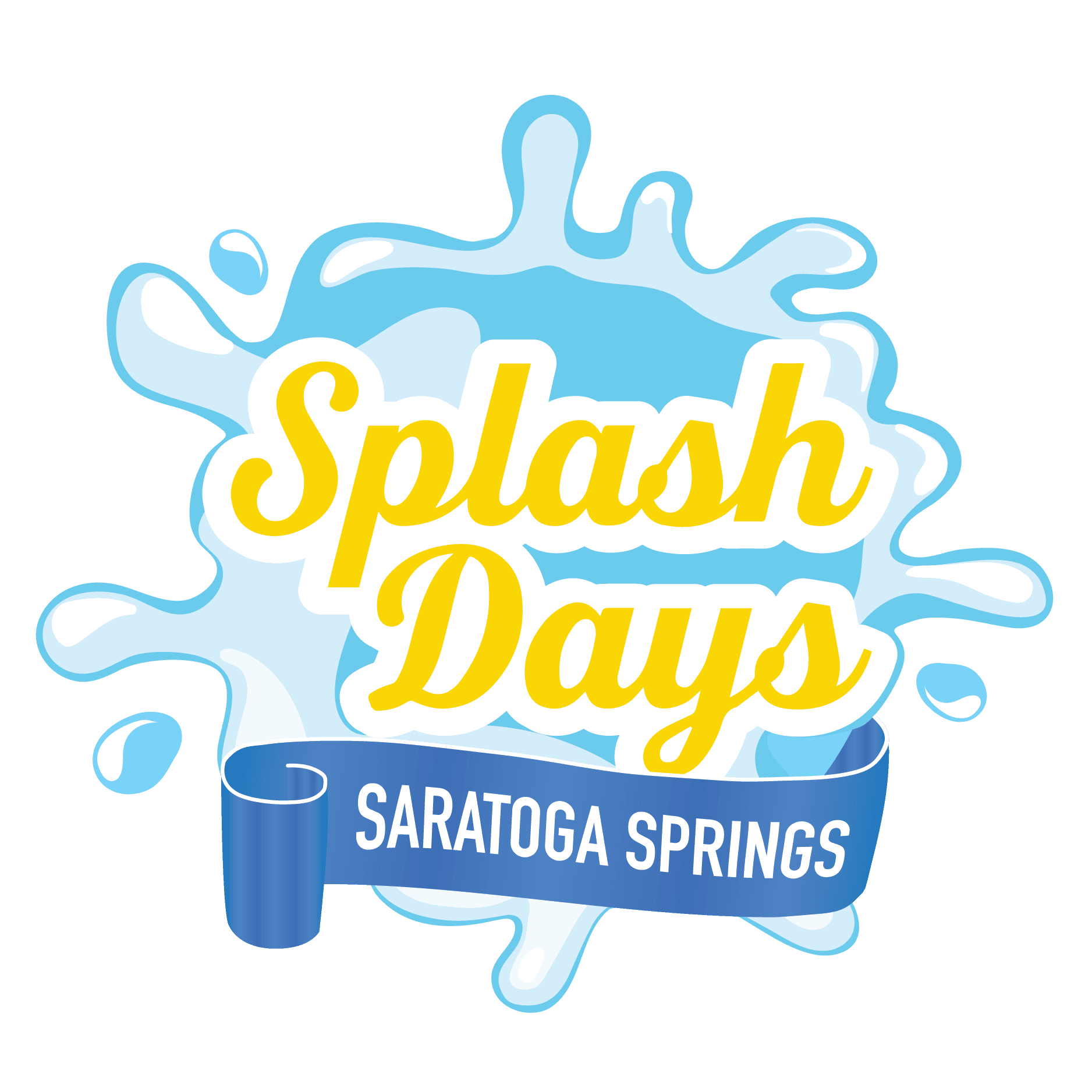Saratoga Splash Days Logo