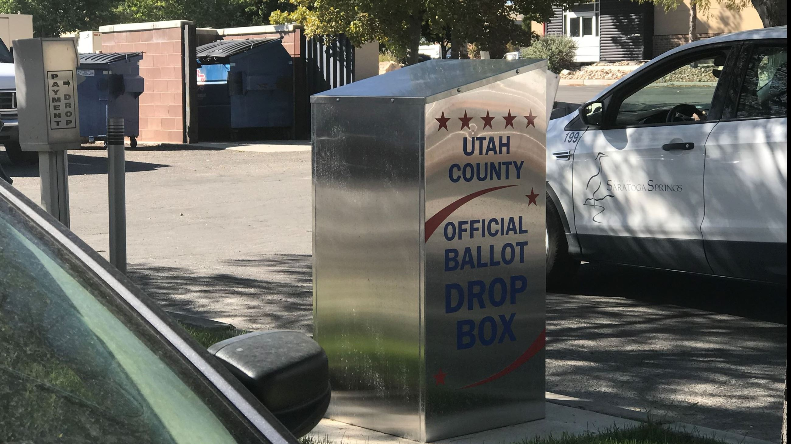Voter Dropbox at City Hall