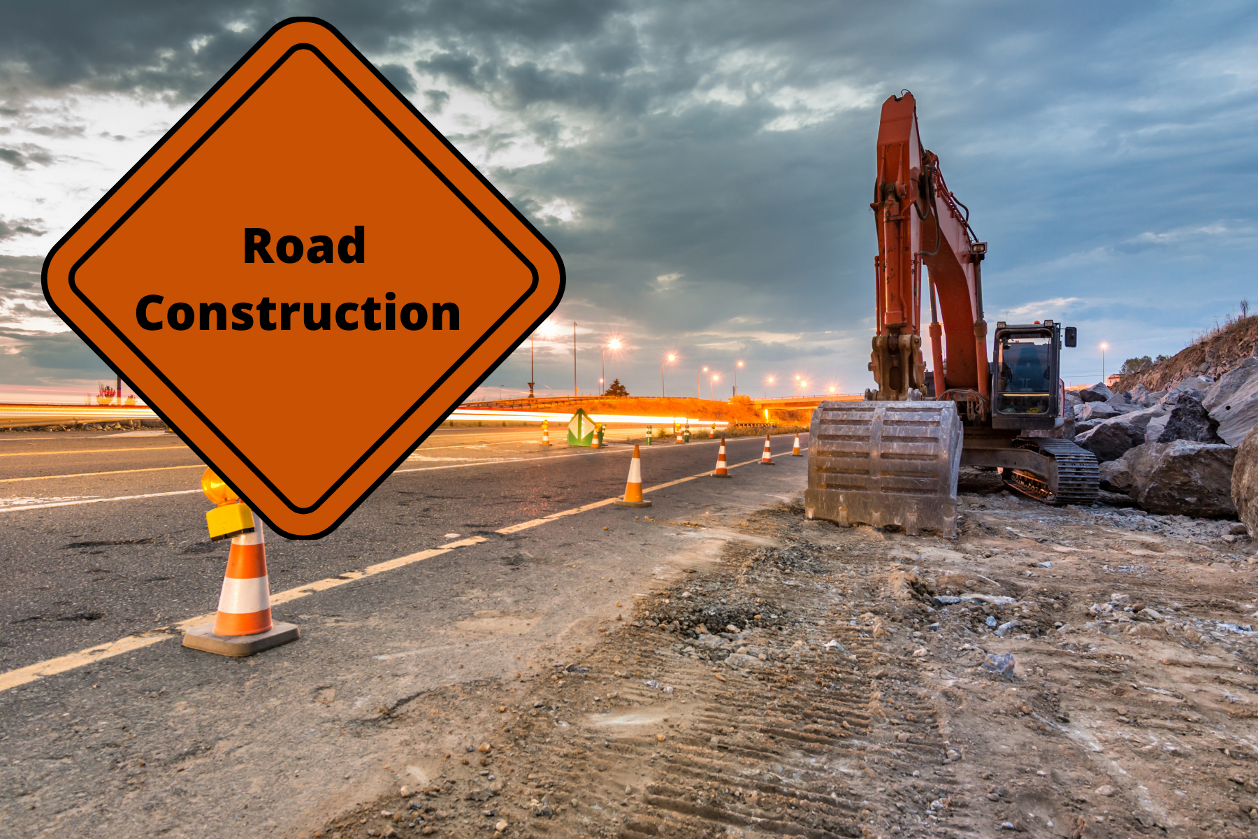 Newsflash  Images - Road Construction